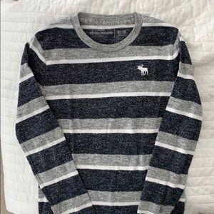 Long sleeve striped tee